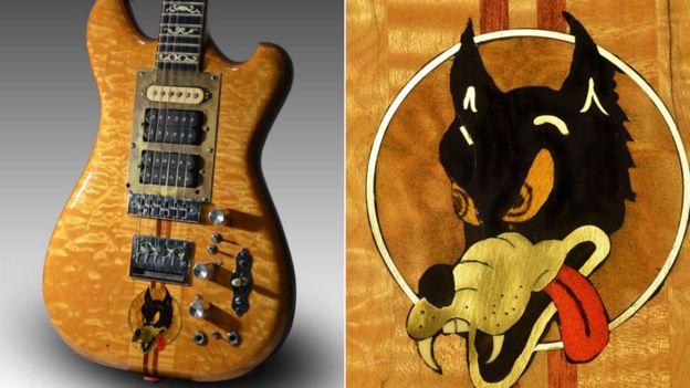 Jerry Garcia's Wolf. Image credit: Roberto Rabanne, via BBC